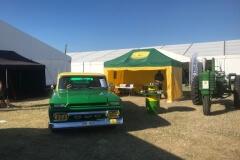 Vintage Green Power Tält